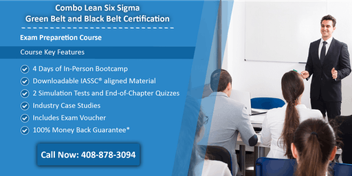 Combo Lean Six Sigma Green Belt and Black Belt Certification Training in Milwaukee, WI