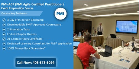 PMI-ACP (PMI Agile Certified Practitioner) Training  In Milwaukee, WI tickets