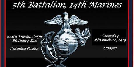 5th Battalion, 14th Marines 244th Marine Corps Ball tickets