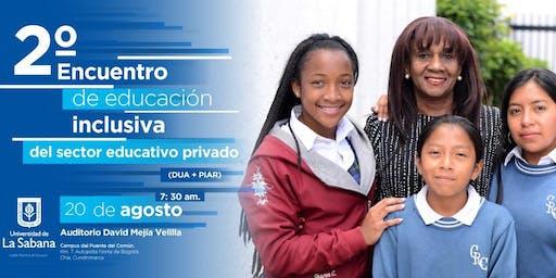 2do Encuentro de Educación Inclusiva del Sector Educativo Privado