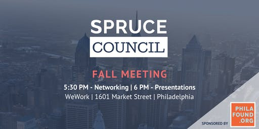 Spruce Council - Fall Meeting