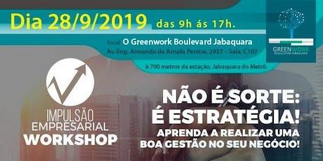 Workshop Impulsão Empresarial ingressos
