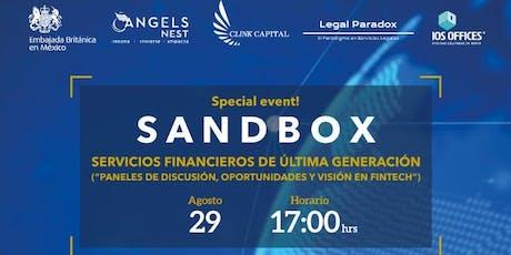 Querétaro. SandBox. Servicios Financieros de Última Generación boletos