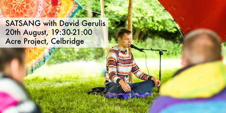 Satsang with David Gerulis tickets