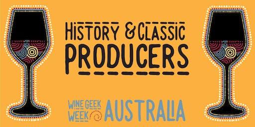 Wine Geek Week Australia: History and Classic Producers