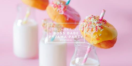 Boss Babe Pyjama Party - Montreal