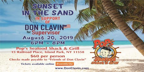 Don Clavin's Sunset in the Sand tickets