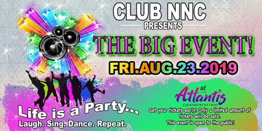 The Big Event! Life is a Party!