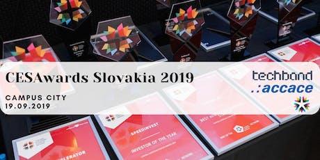 CESAwards Slovakia 2019 tickets