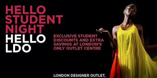 Student Night at London Designer Outlet
