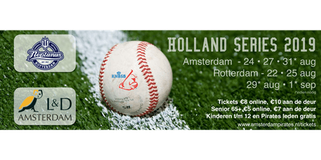 Holland Series 2019 - Game 2 | L&D Amsterdam Pirates - Curaçao Neptunus tickets