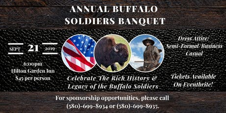 Annual Buffalo Soldiers Banquet  tickets