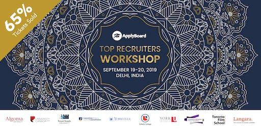 ApplyBoard Top Recruiters Workshop - Delhi, India