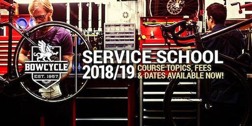 2019/20 Bow Cycle Basic Maintenance Course