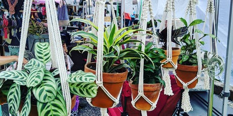 BYOB House Plant Macrame Holder Class tickets