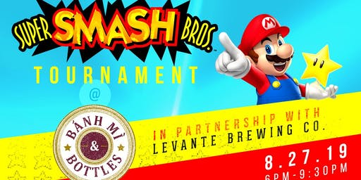 Super Smash Bros. Ultimate Tournament x Levante Brewing