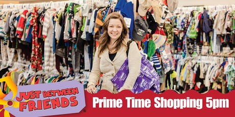 JBF Prime Time 5pm Shopping Kids MEGA Sales Event tickets