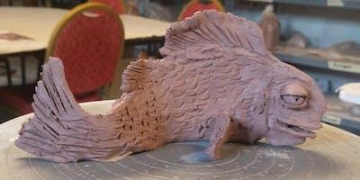 Clay Fish Pottery Class