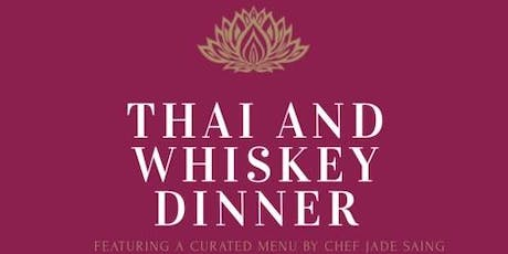 Women and Whiskey:Thai and World Whiskey Dinner tickets