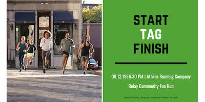 September Relay Run with ARC + Terrapin + lululemon Athens