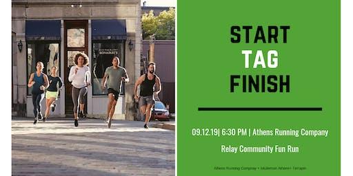 September Relay Run with ARC + Terrapin + lululemon Athens