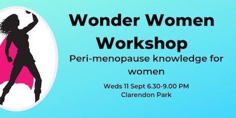 Wonder Woman Workshop tickets