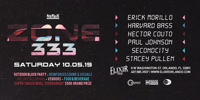 Nofaux Presents: ZONE 333 w/ Erick Morillo, Stacey Pullen, & More