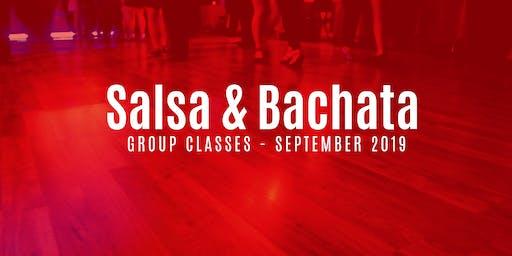 Salsa & Bachata Classes - September 2019