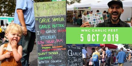 WNC Garlic Fest tickets