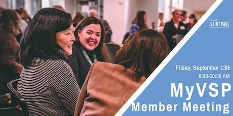 MyVSP: September Member Meeting tickets