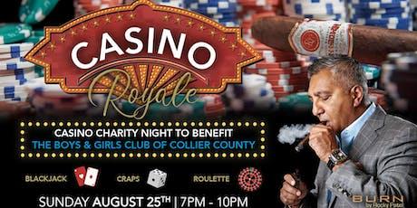 Casino Royale at BURN by Rocky Patel tickets