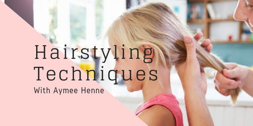 Children's Hairstyling Techniques