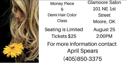 Money Piece & Demi Hair Color Class