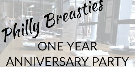 Philly Breasties One Year Anniversary Party tickets