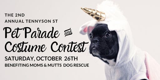 Second Annual Tennyson Street Pet Parade & Costume Contest