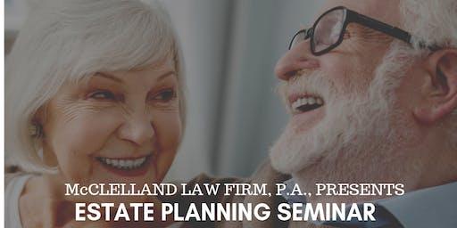 Searcy Estate Planning Seminar