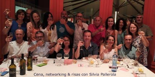 Cena, networking y risas con Silvia Pallerola