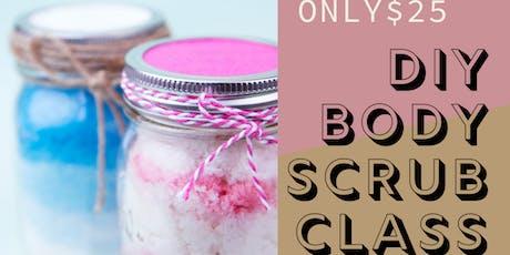 DIY Body Scrub Creation Class  tickets