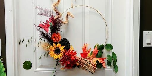 Autumn Ring Wreath Workshop