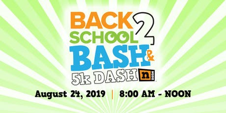 Back2School Bash and 5K Dash tickets