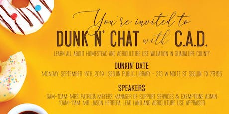 Dunk N' Chat with C.A.D. tickets