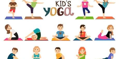 Kids Yoga Class tickets