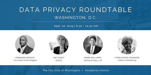 Data Privacy Roundtable Breakfast: Washington, DC