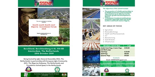 South-South South-East Nigeria Investment Forum 2019