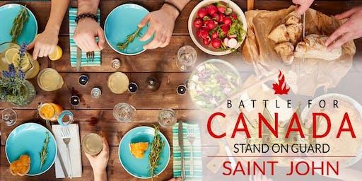 Battle for Canada Saint John Meals