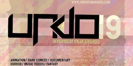 Undo Divergent Film Awards 2019 tickets