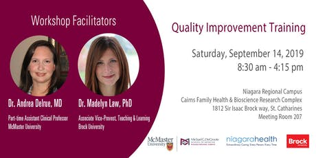 One-day Quality Improvement Training in Niagara tickets