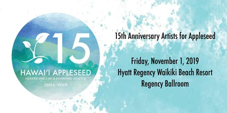 15th Anniversary Artists for Appleseed tickets