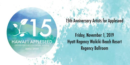 15th Anniversary Artists for Appleseed