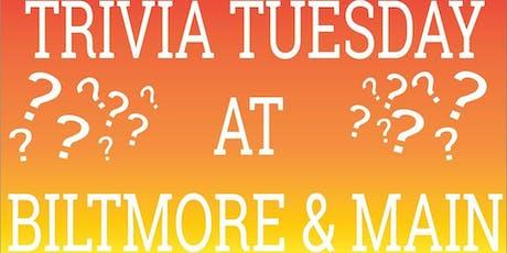 Trivia Tuesday tickets